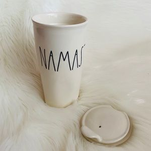 "Rae Dunn // ""Namaste"" Ceramic To-go Coffee Cup"